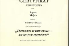 Certyfikat uczestnictwa - 4