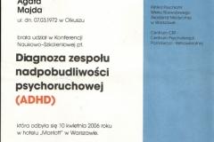Certyfikat uczestnictwa - 3