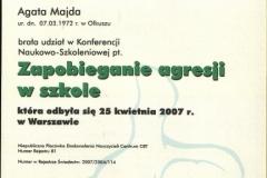 Certyfikat uczestnictwa - 6